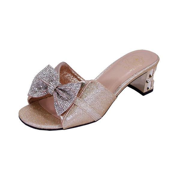 Women Church Shoes DP843-Champagne - Church Suits For Less