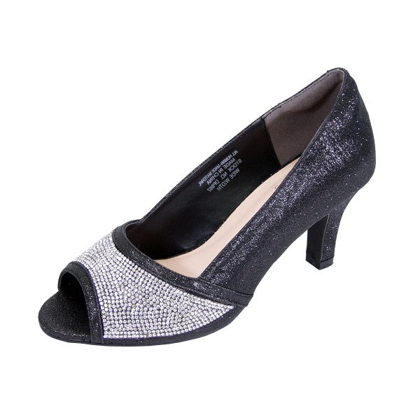 Women Church Shoes DP897-Black - Church Suits For Less