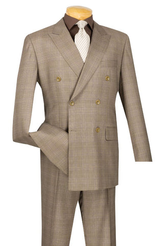 Vinci Men Suits DRW-1 Tan - Church Suits For Less