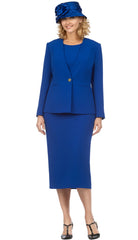 Giovanna Usher Suit S0722-Royal - Church Suits For Less