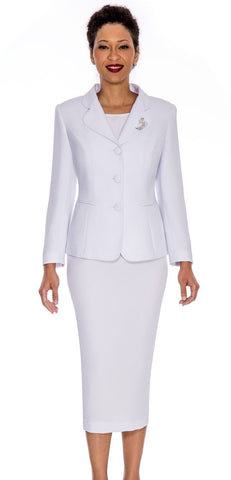 Giovanna Usher Suit 0824- White