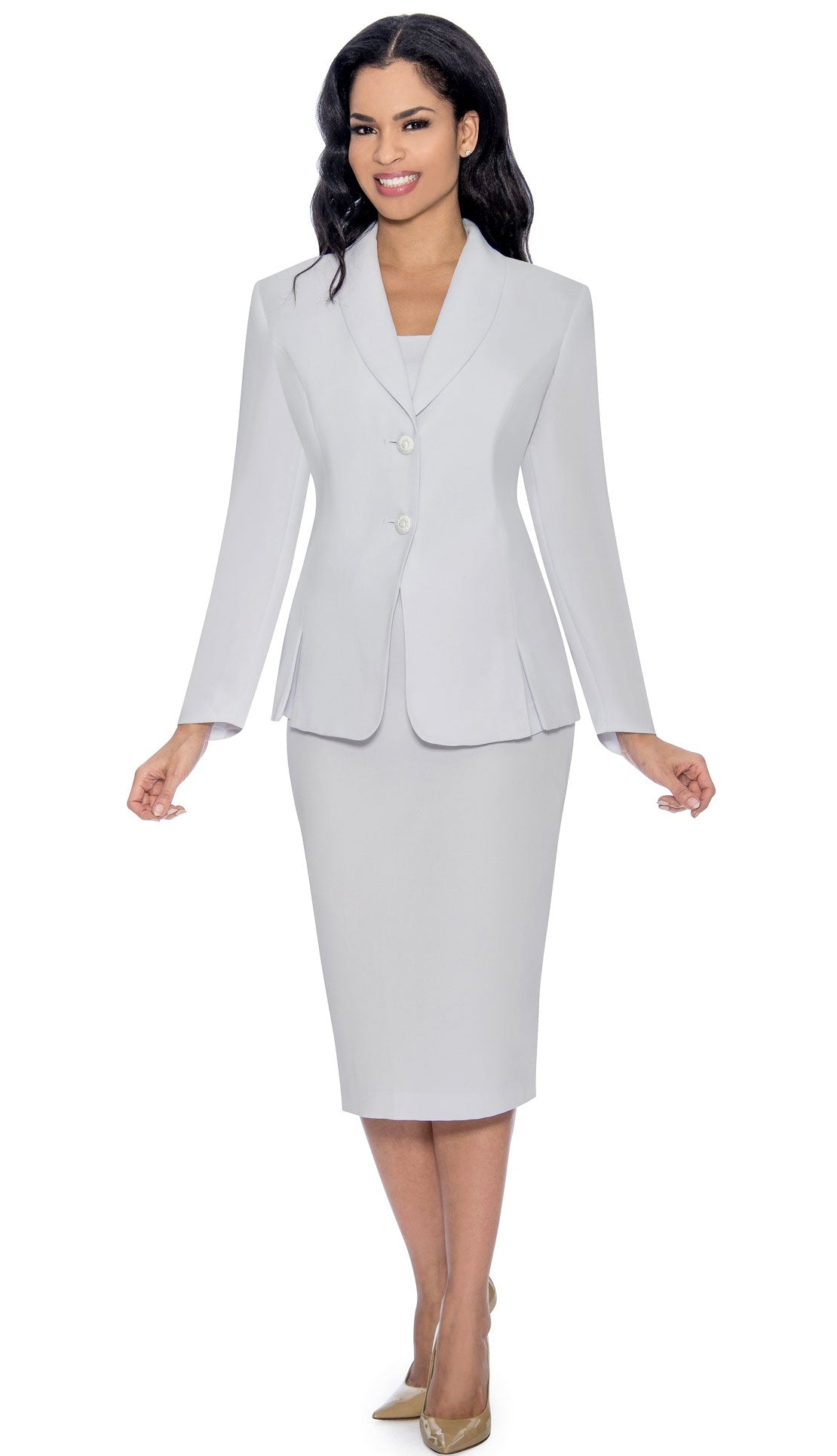 Giovanna Usher Suit 0826-White - Church Suits For Less