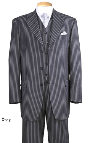 Milano Moda Suit 5802V7-Gray - Church Suits For Less