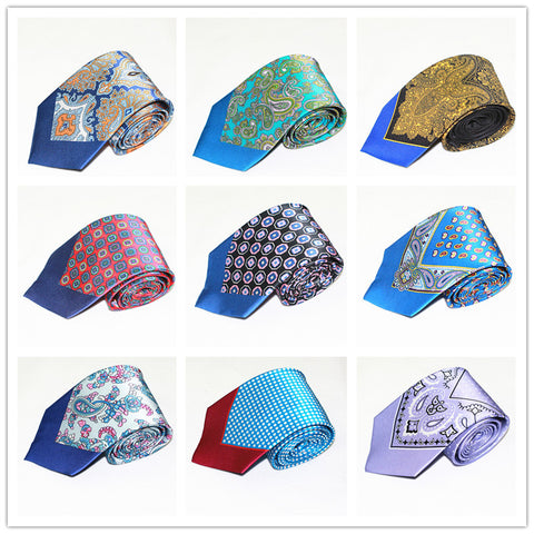 Men Fashion Ties With Hanky