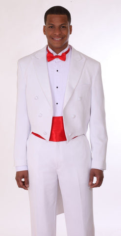 Milano Moda Tuxedo T505-White - Church Suits For Less