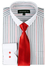 SG-41-White/Red - Church Suits For Less