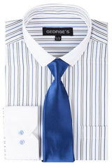 SG-41-White/Blue - Church Suits For Less
