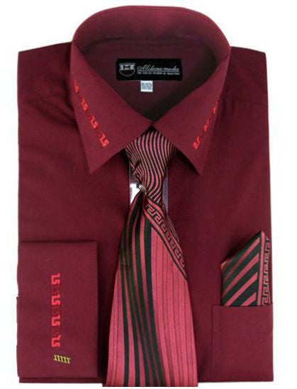 SG-35-Burgandy - Church Suits For Less
