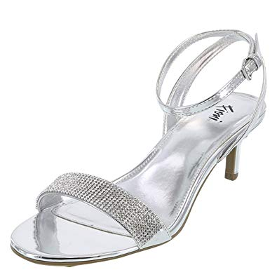 Women Church Shoes D05-silver - Church Suits For Less