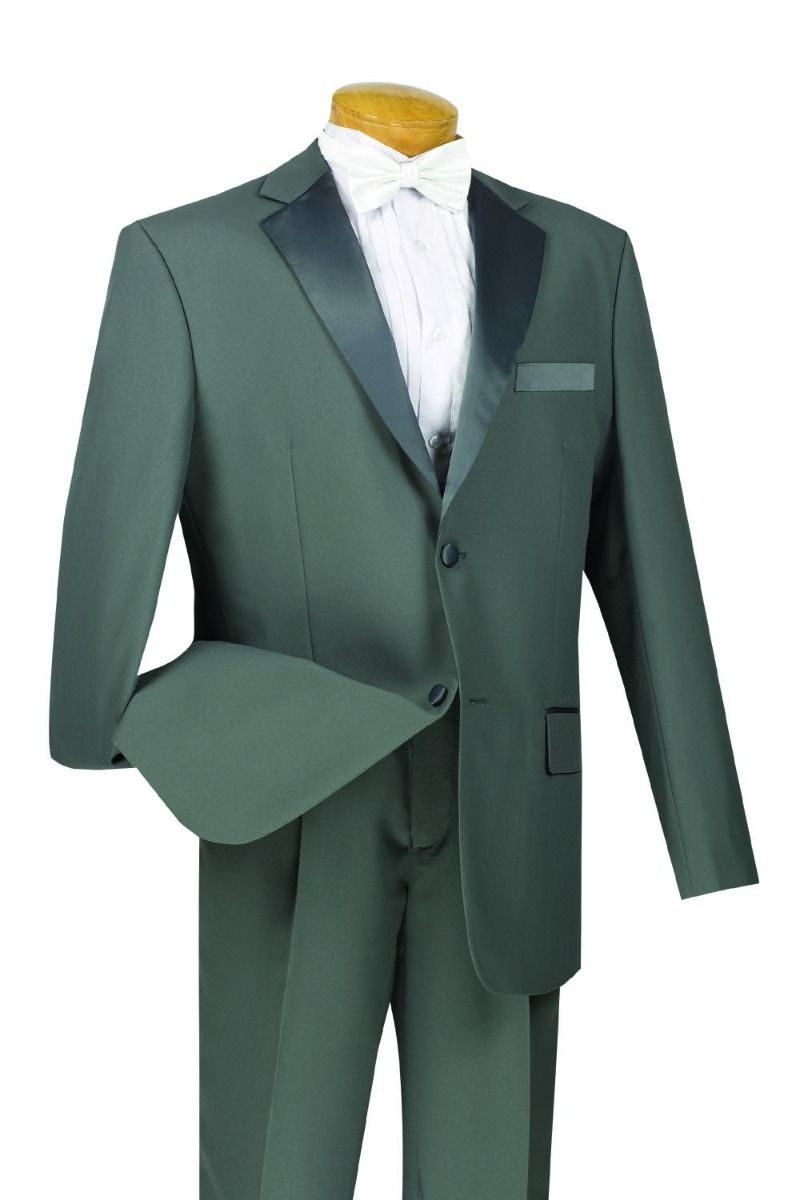 Men Tuxedo T-2PP-Gray - Church Suits For Less