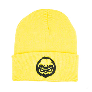 Black & Yellow LOGO Beanie