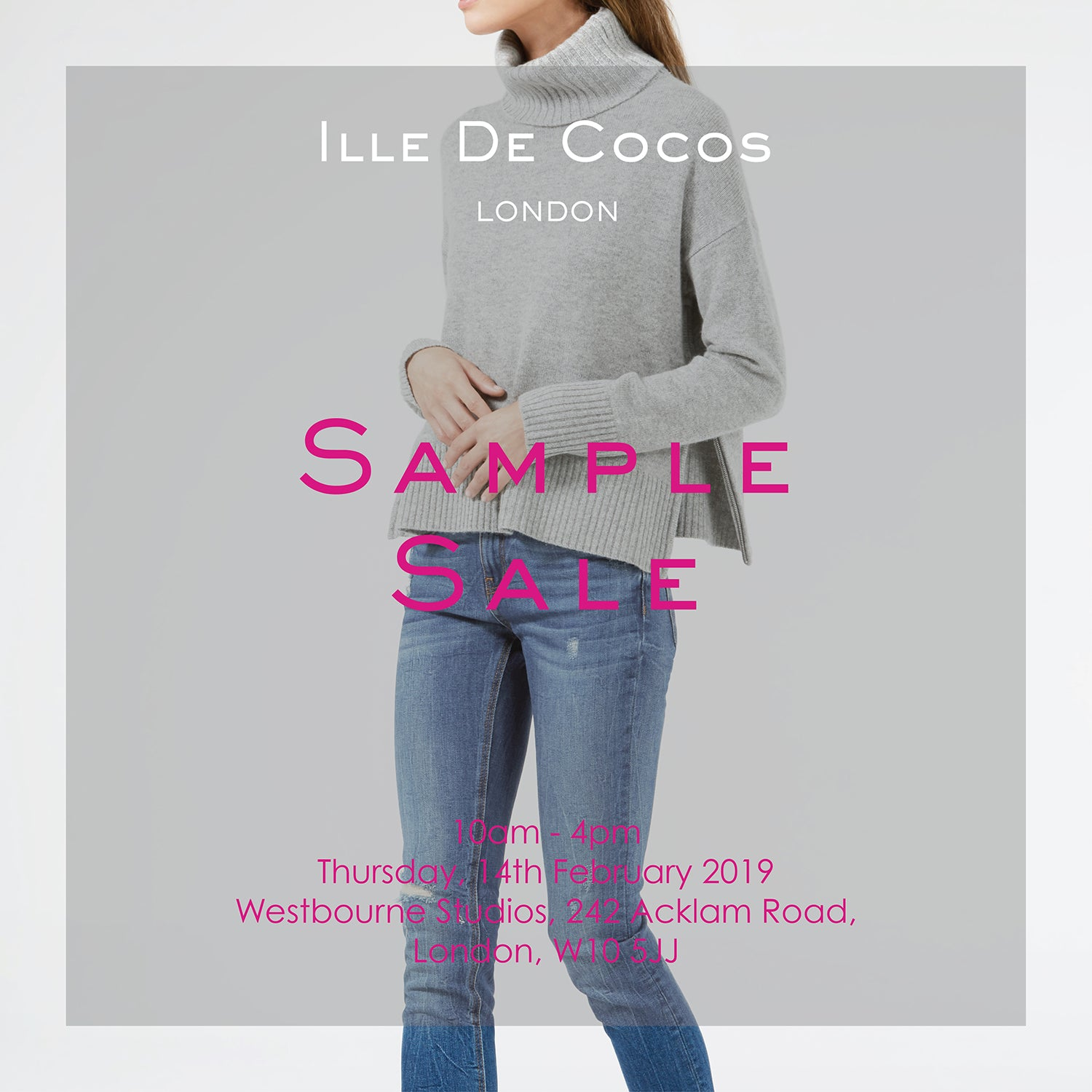 Ille De Cocos Winter Sample Sale