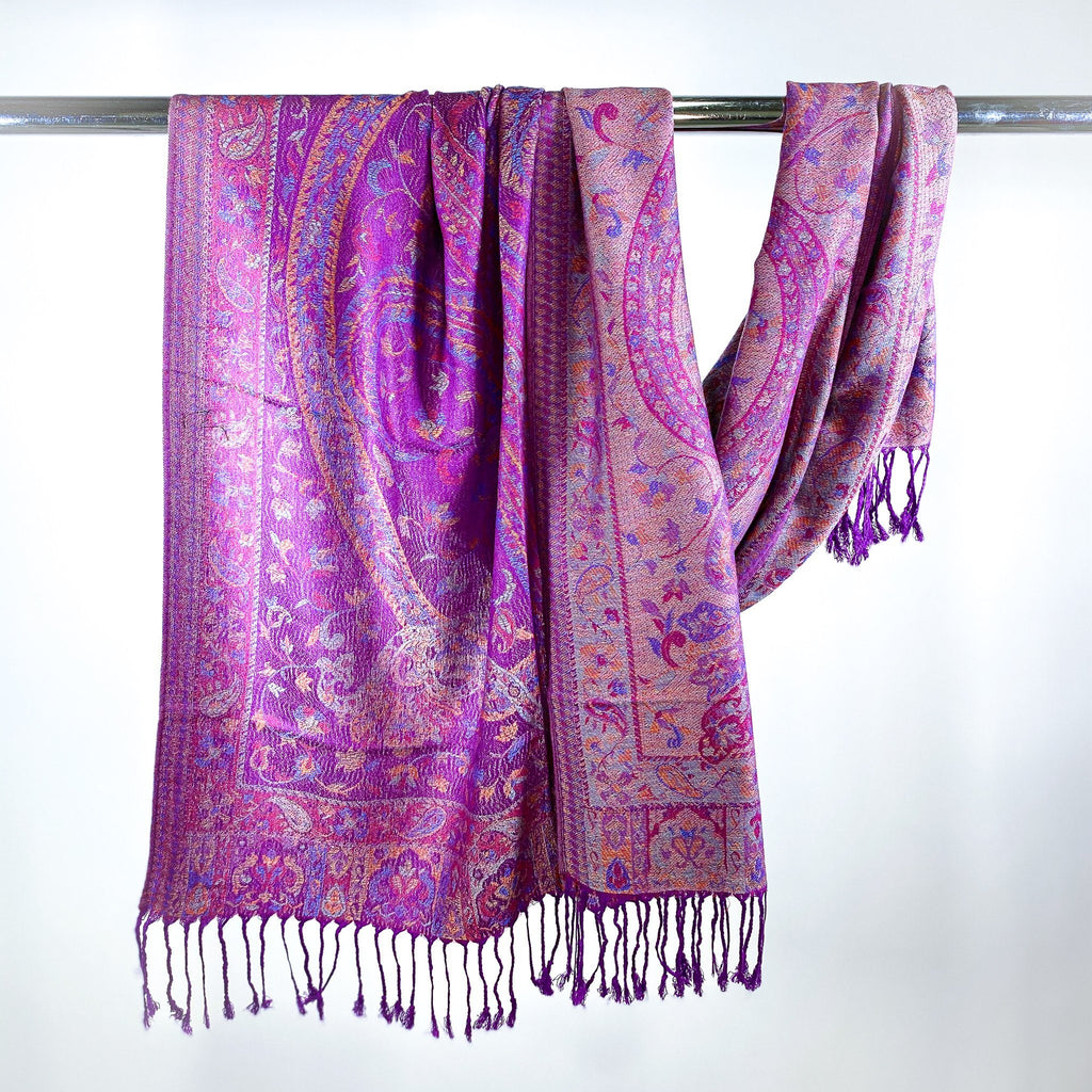 Morning Glory Pashmina