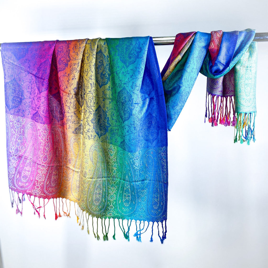 All The Rainbows Pashmina