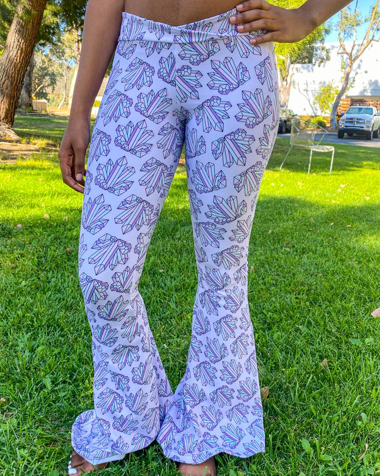 Crown Chakra Bell Bottoms