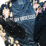 DIY OBSESSED V Neck