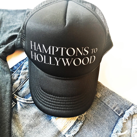 Hamptons to Hollywood Hat