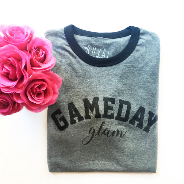 Gameday Glam Vintage Boyfriend Fit Jersey Tee