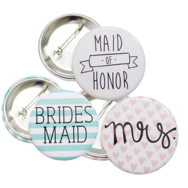 Bridal Party Pins