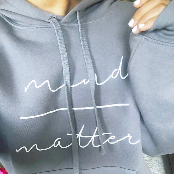 Mind over Matter Light Grey Sweatshirt