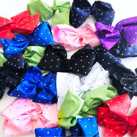 "8"" Crystal Bows"