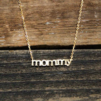 Dainty Gold Mommy Necklace