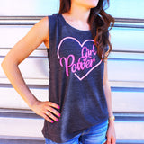Girl Power Heart Muscle Tank