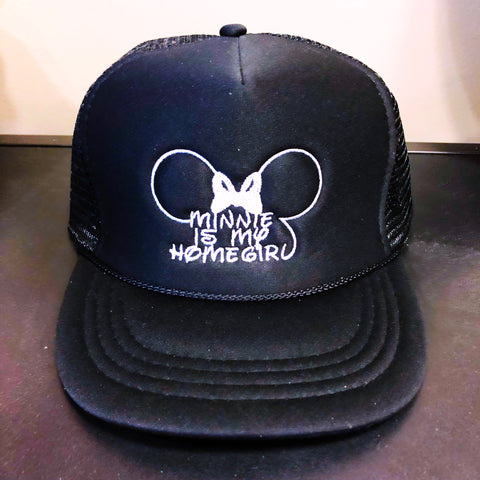 Minnie is my Homegirl Kid's Hats