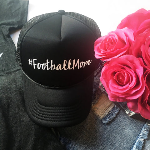 #FootballMom Hat