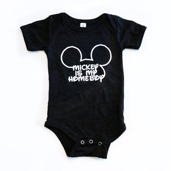 Mickey is my Homeboy Onesie
