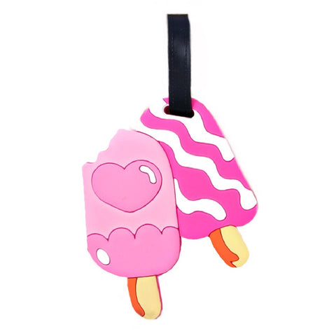 Popsicle Luggage Tag