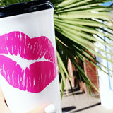 Kiss Coffee Tumbler