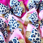 Pink & Leopard Bows