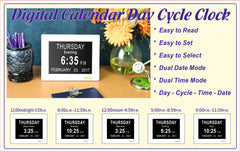 DayClox - '5 CYCLE'  Memory Loss Digital Calendar Day Clock - The Senior Care Shop  - 8