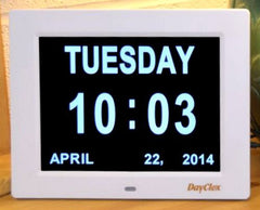 DayClox Digital Calendar Day Clock - The Original Memory Loss Day Clock - The Senior Care Shop - 2