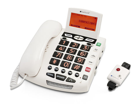 ClearSounds CSC600ER Amplified SOS Alert Phone ClearSounds CSC600ER Amplified SOS Alert Phone