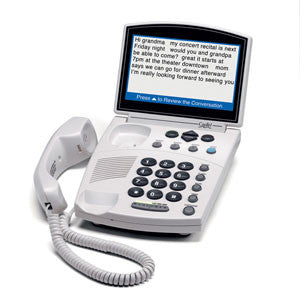CapTel Caption Phone - The Senior Care Shop