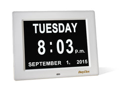 DayClox Digital Calendar Day Clock - The Original Memory Loss Day Clock - The Senior Care Shop  - 4