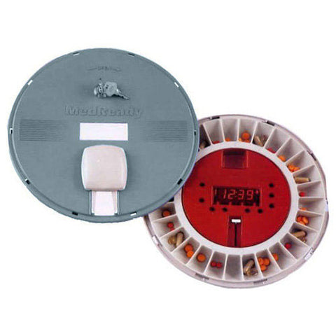 MedReady Lockable Pill Dispenser with Land Line Modem- Basic Unit