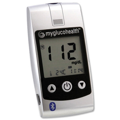 Blood Glucose Meter w/Wireless Bluetooth