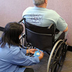 Caregiver Alert -Wheelchair Sensor Alarm