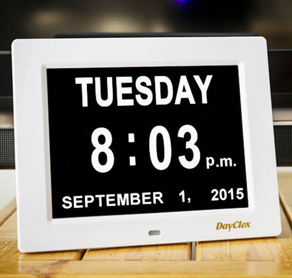 DayClox Digital Calendar Day Clock - The Original Memory Loss Day Clock - The Senior Care Shop  - 5