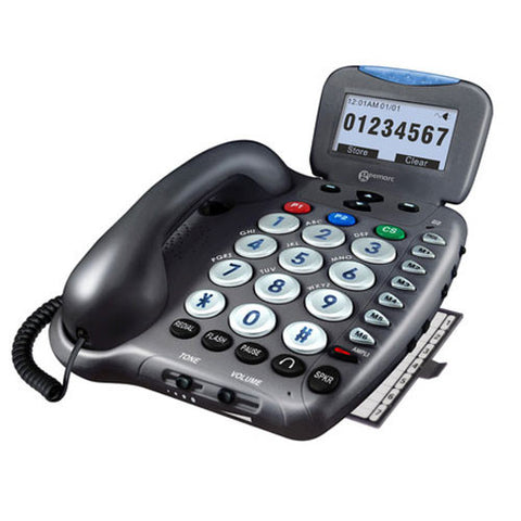 Amplified Phone W/ Flash & Talking Caller I.D. Amplified Phone W/ Flash & Talking Caller I.D.