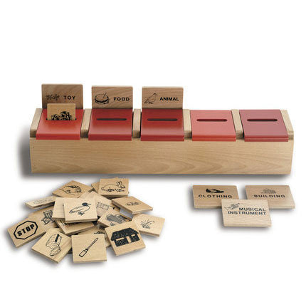Category Sort Classification Game
