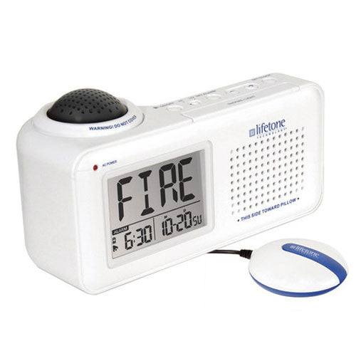 X-Loud Fire Alarm w/Vibrating Bed Shaker