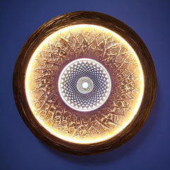 The Sahasrara Sun, dynamic copper 70cm