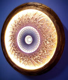 The Sahasrara Sun, dynamic copper 100cm