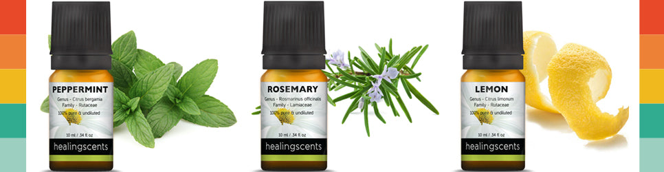 over 80 organic essential oils
