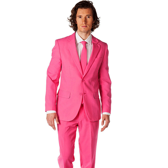 Pink Ties are for Real Men...