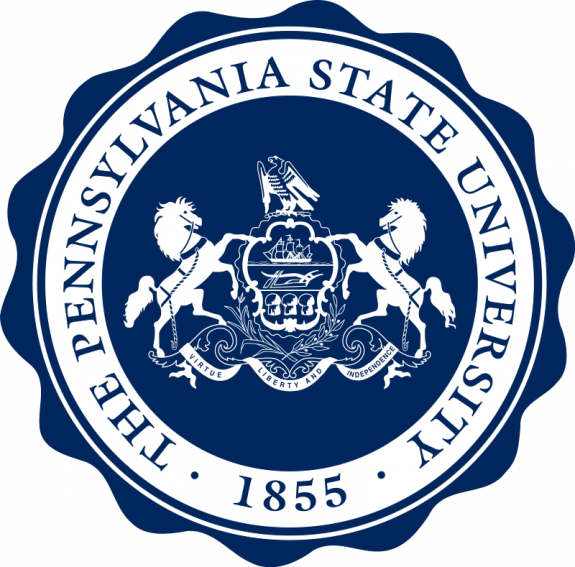 Pennsylvania State University Tie Colors